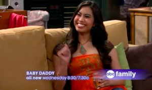 Ashley on Baby Daddy