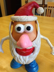 Santa Potato Head